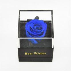 boite à bijoux rose eternelle bleue