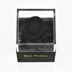 boite à bijoux noire