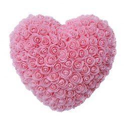 rose éternelle en rose rose