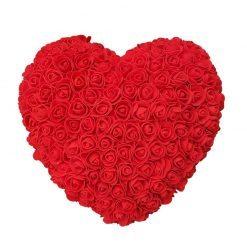 rose éternelle en rose rouge