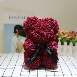 ours en rose bordeaux