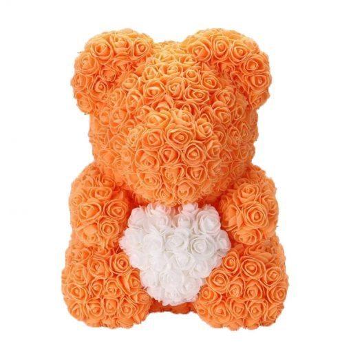 ours en rose éternelle orange