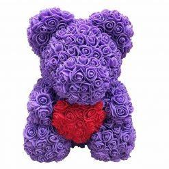 Ours en rose violet